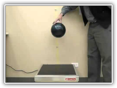 CookTek Bowling Ball Drop Test